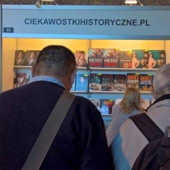 CiekawostkiHistoryczne.pl na Targach Książki Historycznej w Warszawie (fot. Rafał Kuzak)