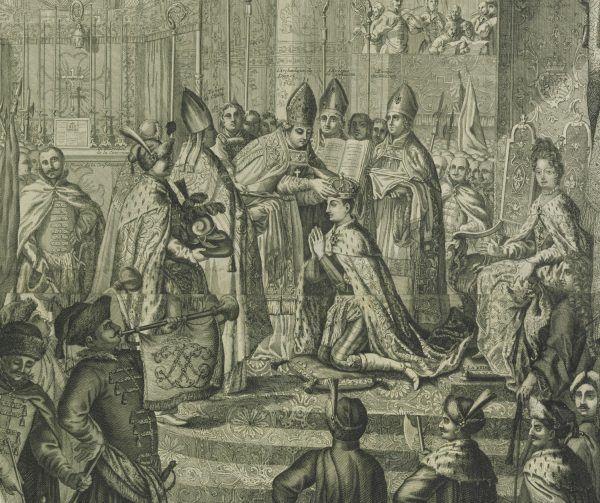 Stanisław Leszczyński został koronowany na króla Polski w 1705 roku dzięki wsparciu króla Szwecji, Karola XII.