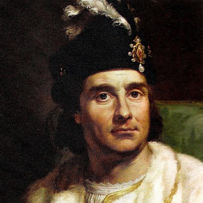 Jan Olbracht. Na obrazach przedstawiano go dość niewinnie, jednak źródła malują zupełnie inny wizerunek króla (fot. domena publiczna)
