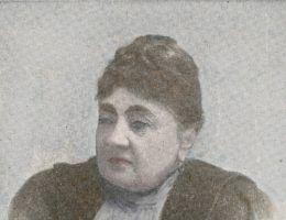 Lucyna Ćwierczakiewiczowa (fot. domena publiczna, koloryzacja Aleksandra Zaprutko-Janicka)