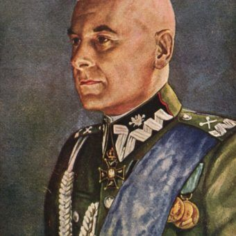 Marszałek Śmigły-Rydz, Generalny Inspektor Sił Zbrojnych. Pocztówka z ok. 1935 roku.