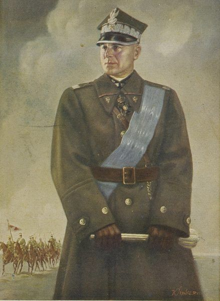 Marszałek Polski Edward Śmigły-Rydz na ilustracji Konstantego Szewczenki