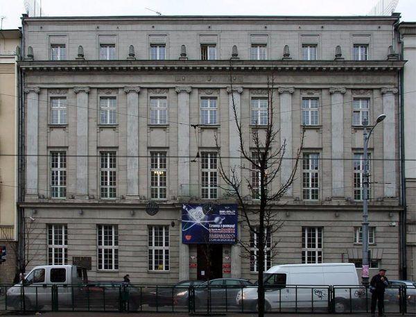 Budynek Narodowego Banku Polskiego. To w tym gmachu swoją siedzibę miała filia Banku Rzeszy.