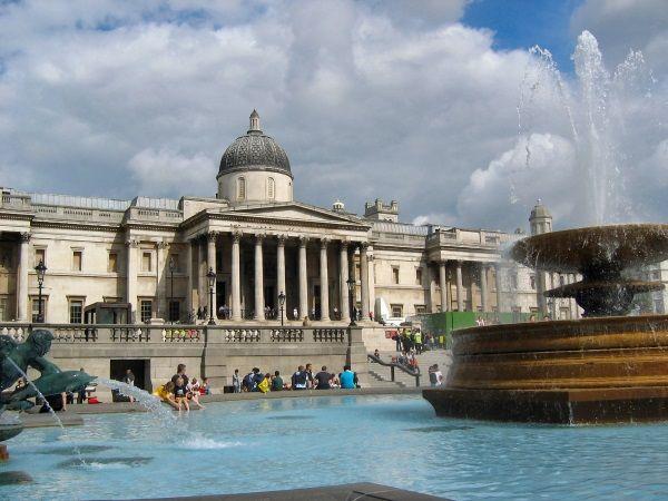 National Gallery. Miejsce, które Joseph Conrad wybrał na swoje wyjątkowo... romantyczne oświadczyny (fot. Yorick Petey, lic. CCS SA 2.0 Fr)
