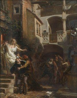 Nocne przygody Jana Olbrachta i Kallimacha (fot. domena publiczna)