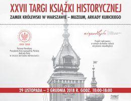 Zapraszamy na Targi Książki Historycznej w Warszawie. Znajdziecie nas na stoisku numer 83.