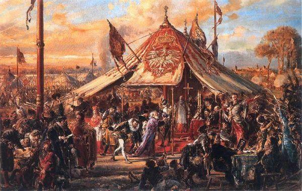 Historia Polski jest równie pasjonująca i dramatyczna, jak Anglii czy Francji. Na obrazie elekcja 1573 roku.