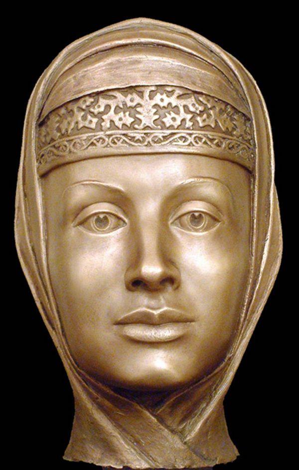 Rekonstrukcja twarzy Marfy, której autorem jest Sergey Nikitin (fot. S.Nikitin, lic. CC BY-SA 3.0)