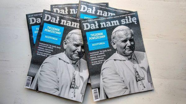 """""""Tygodnik Powszechny Historia"""" podstępny w dobrych punktach prasowych i salonach z prasą."""