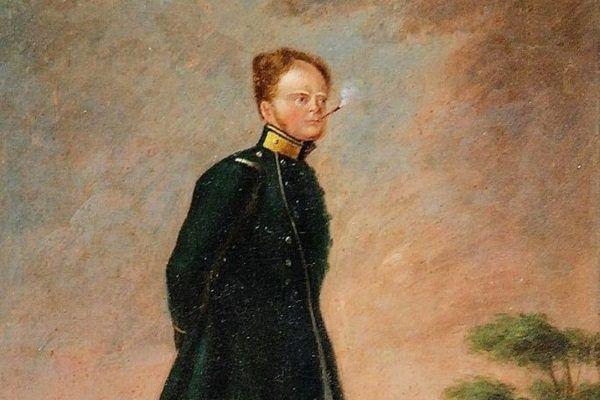 Wielki książę Konstanty Pawłowicz na obrazie Józefa Ignacego Łukaszewicza.