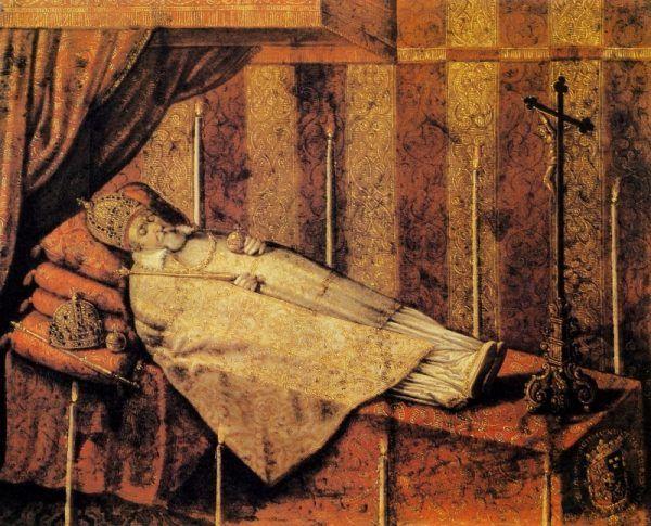 Zygmunt III Waza na katafalku (fot. domena publiczna)