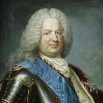 Stanisław Leszczyński na portrecie autorstwa Jeana Girardeta.