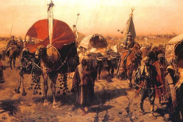 """W tureckim obozie wojska koalicji zdobyły ogromne łupy. A przecież to Turcy mieli się """"obłowić""""."""