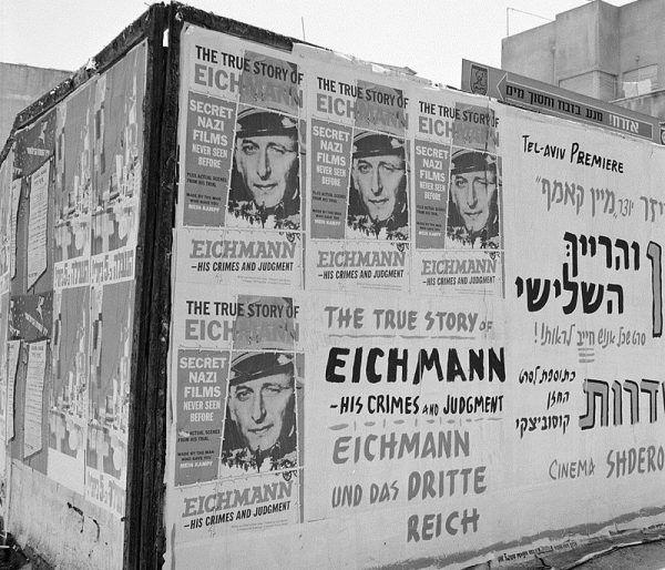 """Pojawienie się """"Stalagów"""" zbiegło się z procesem Adolfa Eichmanna. To wówczas temat Holokaustu wrócił do dyskusji publicznej w Izraelu."""