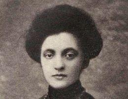 Aleksandra Szczerbińska na fotografii z młodości