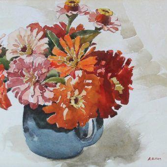 """Gdyby został przyjęty na akademię, być może II wojny światowej by nie było, a w galeriach sztuki, obok """"Słoneczników"""" van Gogha wisiałyby """"Kwiaty"""" Hitlera!"""
