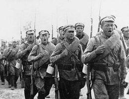 W szeregach Armii Czerwonej nie brakowało Polaków.