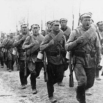 Podczas wojny polsko-bolszewickiej w szeregach Armii Czerwonej służyli również Polacy.