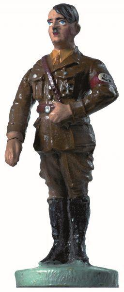 Prawdopodobnie w całej historii zabawek nie powstał równie brzydki koszmarek. Mimo to niemieckie dzieci wprost rozchwytywały figurki z Hitlerem.
