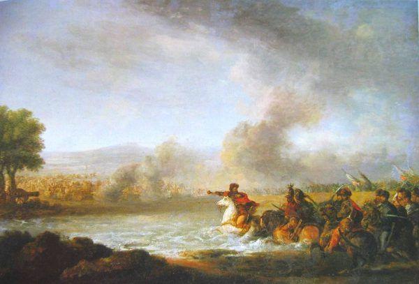 Szwedzi byli kompletnie zaskoczeni tempem w jakim polska kawaleria przekroczyła Pilicę.