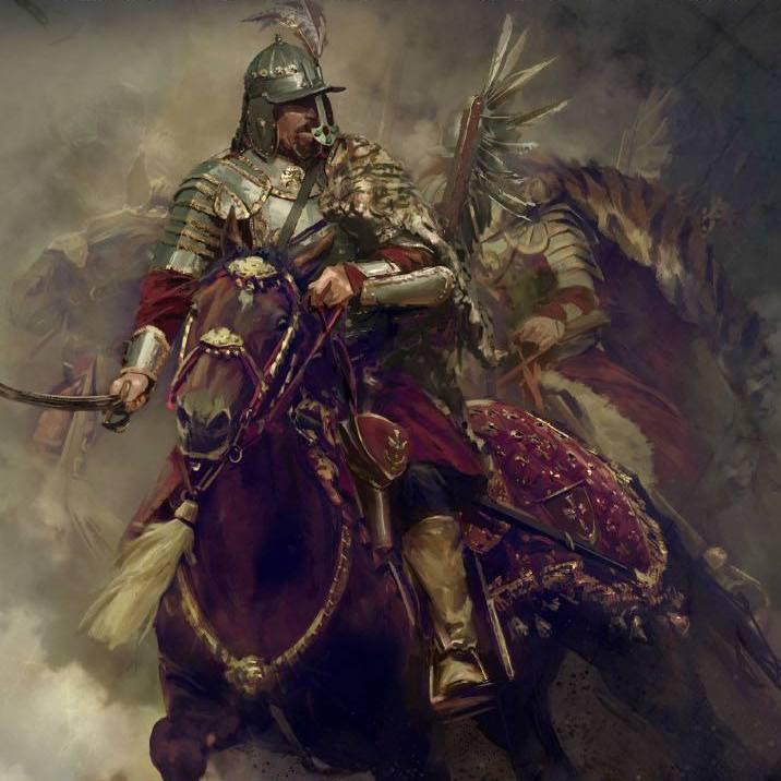 """Czy husarze byli żołnierzami doskonałymi? Na ilustracji fragment okładki książki Radosława Sikory """"Husaria""""."""
