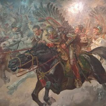 Czy husarze używali w walce skrzydeł? A może były one tylko dekoracją?