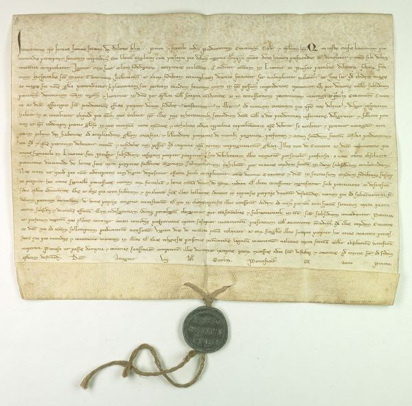 By wspomóc Krzyżaków walczących z pruskimi powstańcami, papież Innocenty IV ogłosił wyprawę krzyżową do Prus.