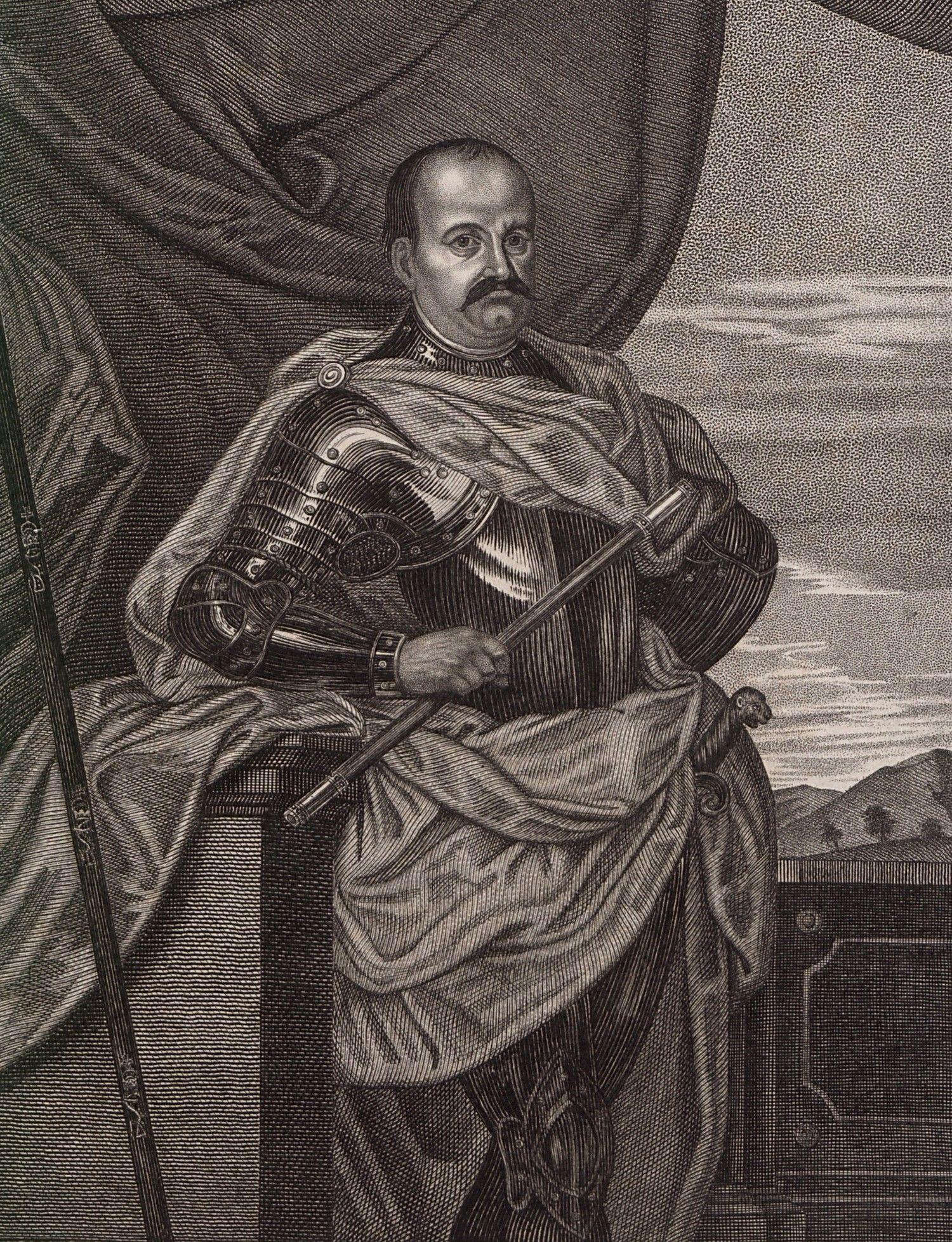 Na czele głównych polskich sił stał Jerzy Sebastian Lubomirski.