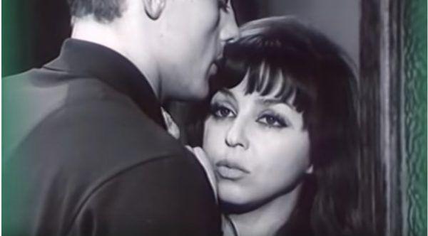 """Kalina Jędrusik, kadr z filmu """"Jowita"""" z 1967 roku w reżyserii Janusza Morgensterna."""