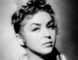 Kalina Jędrusik w 1952 roku (fot. Edward Hartwig, lic. domena publiczna)