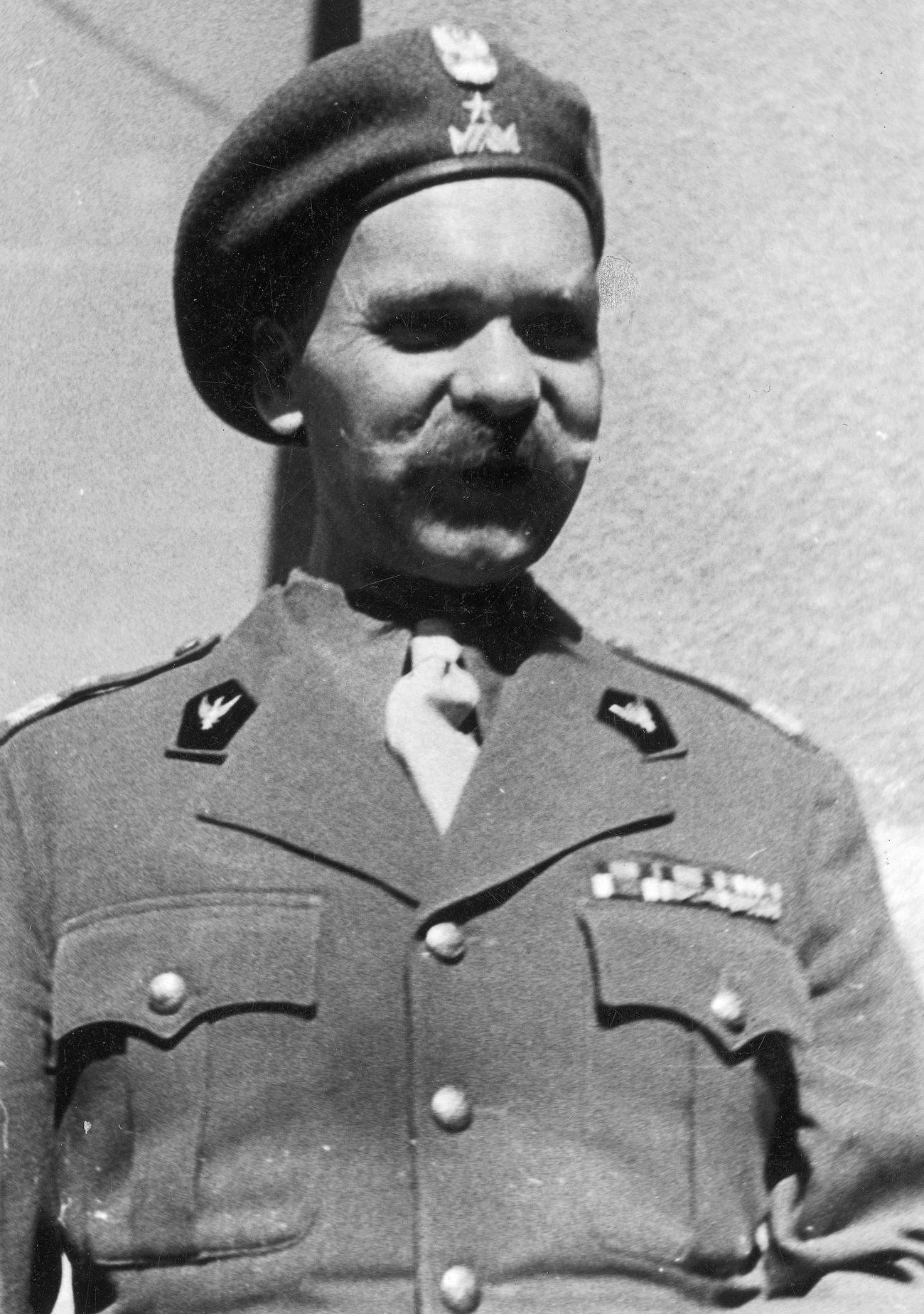 Dowódca 5 Kresowej Dywizji Piechoty generał Nikodem Sulik.