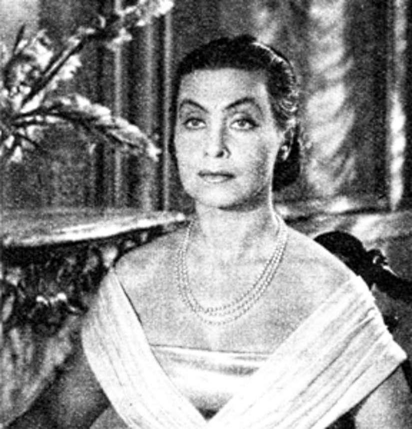 Nina Andrycz w filmie historycznym Warszawska premiera (fot. domena publiczna)
