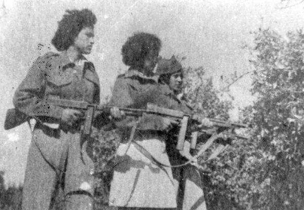 W Lechi walczyły także kobiety. Zdjęcie z 1948 roku.