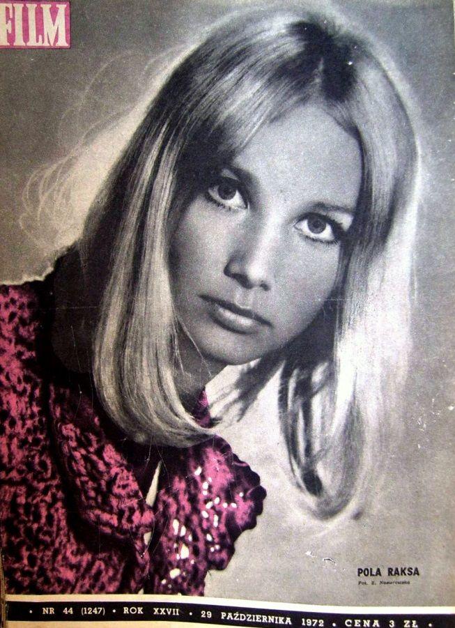 Pola Raksa na okładce magazynu FILM z 1972 roku.