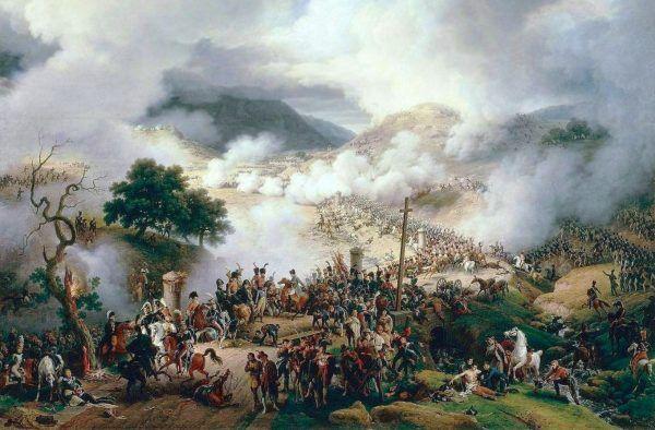 Bitwa pod Somosierrą na obrazie Louisa François Lejeune'a.