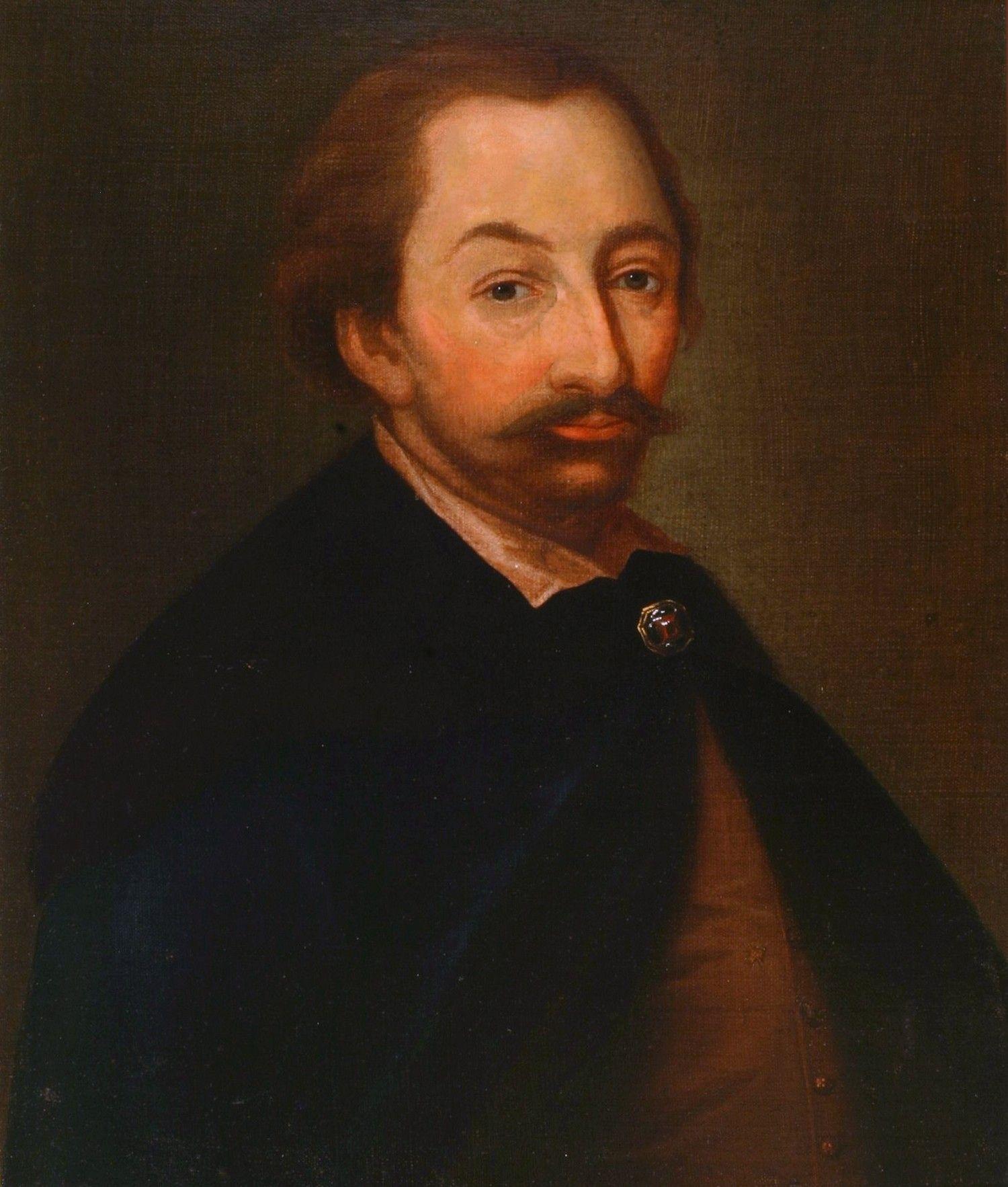 XVII-wieczny portret Stanisława Żółkiewskiego. To dzięki jego geniuszowi odnieśliśmy zwycięstwo pod Kłuszynem.