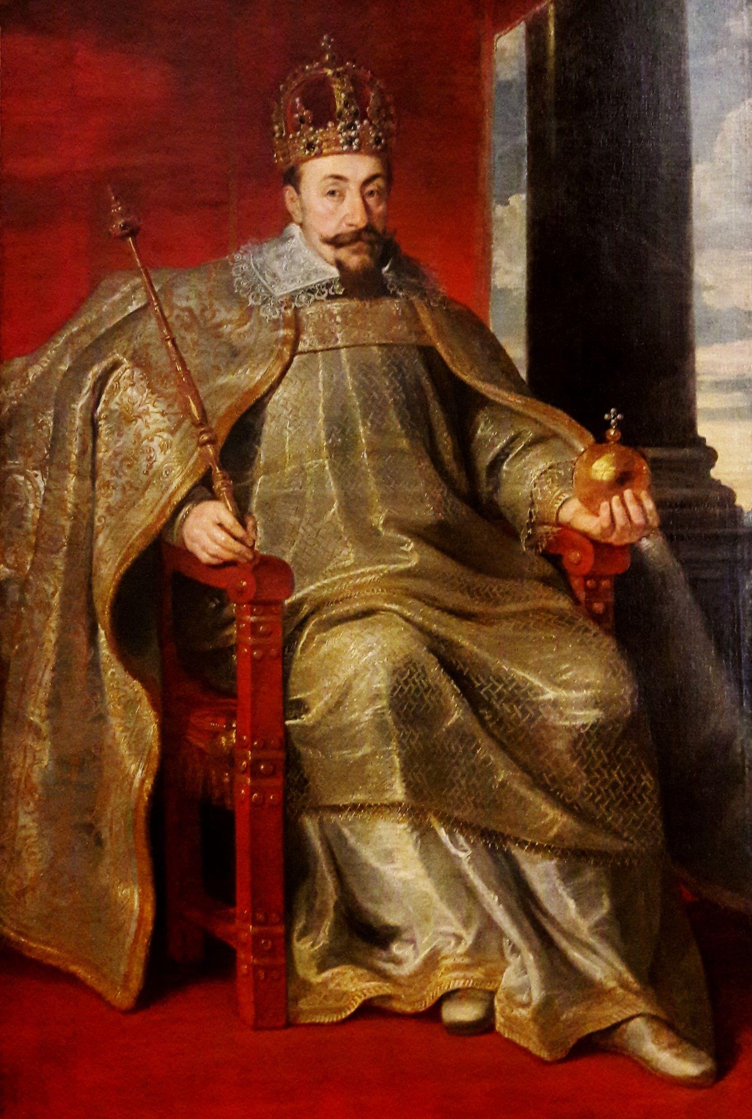 Zygmunt III Waza wypowiadając wojnę Moskwie liczył na doprowadzenie do polsko-rosyjskiej unii personalnej.