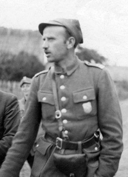 """Dowódca 5 Wileńskiej Brygady AK Zygmunt Szendzielarz """"Łupaszko"""" długo nie mógł uwierzyć w zdradę Reginy."""