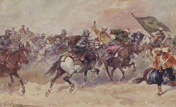 Pod Chocimiem walczyło około 8000 tysięcy husarzy.