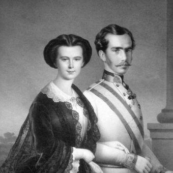 Elżbieta Bawarska i Franciszek Józef (fot. domena publiczna)