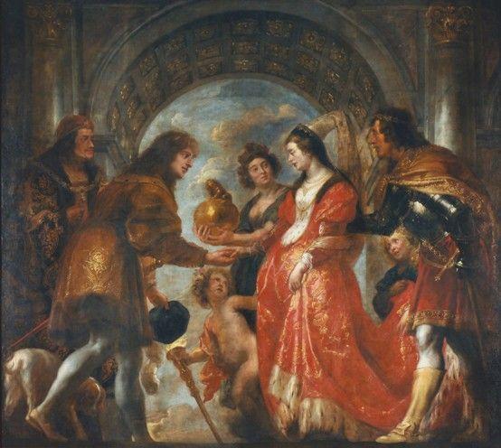 Pierścionek z diamentem pojawił się przy zaręczynach Marii Burgundzkiej i Maksymiliana Habsburga... ale to pan młody go dostał!