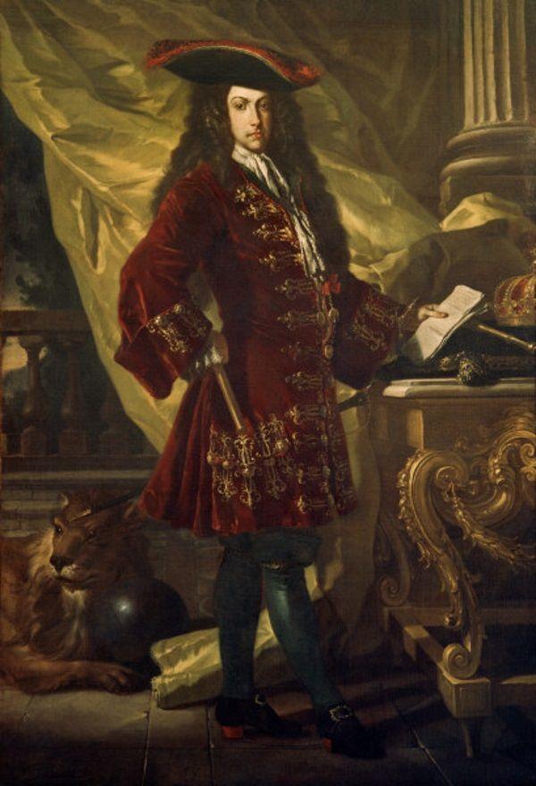 Karol VI Habsburg, ojciec Marii Teresy (fot. domena publiczna)