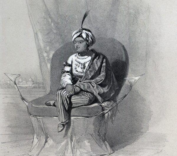 Ostatnim właścicielem Koh-i-noora z dynastii Sikhów był małoletni Dalip Singh.