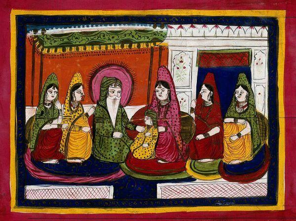 Za sprawą Randźita Singha klejnot znalazł się w rękach Sikhów.