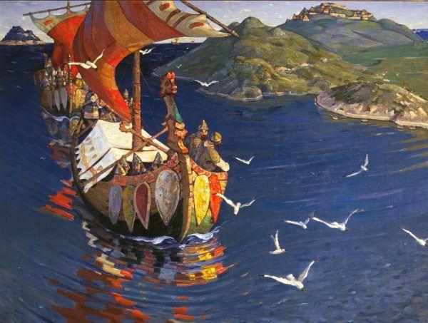 Europejczycy mieszkający na wybrzeżach z trwogą spoglądali na morze w obawie przed najeźdźcami z Północy.
