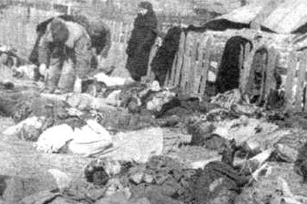 Ofiary rzezi wołyńskiej z miejscowości Lipniki.