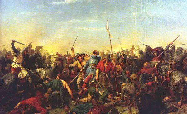 Za koniec wikińskich najazdów na Wielką Brytanię uznaje się często bitwę pod Stamford Bridge w 1066 roku.