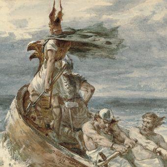 Wśród mieszkańców średniowiecznej Europy łupiący co popadnie wikingowie budzili grozę.
