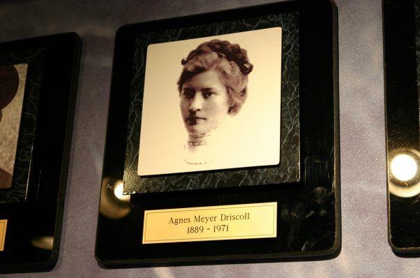 Zdjęcie Agnes Meyer Driscoll zrobione w amerykańskim National Cryptologic Museum (fot. Ryan Somma, lic. CC BY 2.0)
