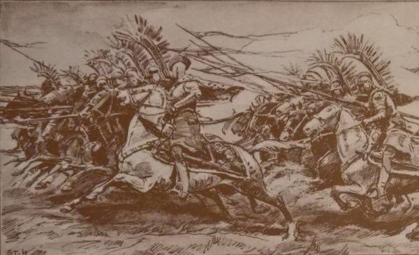 Wśród husarzy byli tacy mocarze, którzy potrafili w jednej ręce utrzymać trzy, niemal sześciometrowe kopie.
